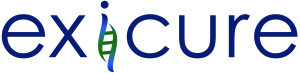 Exicure logo, links to Exicure homepage