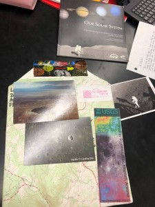 Letter and photos