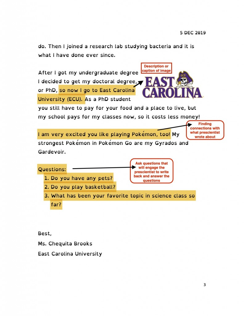 Julie Wojnar_Annotated Letter Page 3